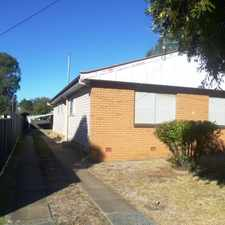 Rental info for Two Bedroom Unit in West Tamworth in the Tamworth area