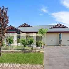 Rental info for Delightfully Designed for Family Living! in the Parafield Gardens area