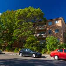 Rental info for UPDATED 2 BEDROOM UNIT - Sorry I am no longer available! in the Hurstville area