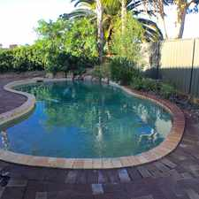 Rental info for Who wants a pool for summer? How about 3 bedrooms and two bathrooms?