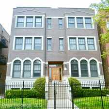 Rental info for 1522 W. Greenleaf #1E in the Rogers Park area