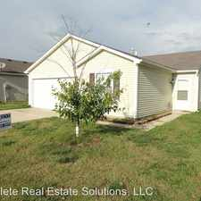Rental info for 6647 Everbloom Ln in the 46217 area