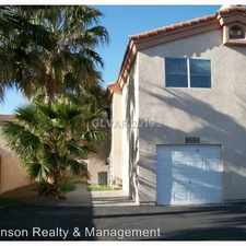 Rental info for 1715 N. Lamont St in the North Las Vegas area