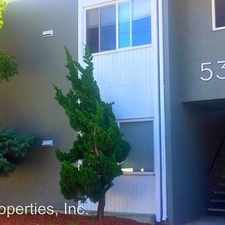 Rental info for 5304 Van Fleet Avenue - 01 in the El Cerrito area