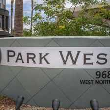 Rental info for Vue Park West in the Phoenix area