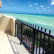 Rental info for 2401 Collins Avenue #1902