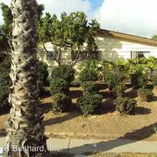 Rental info for 2168 Thomas Ave. in the San Diego area