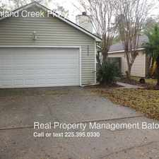 Rental info for 232 Highland Creek Pkwy in the Baton Rouge area