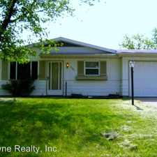 Rental info for 6126 Guild Dr. in the Fort Wayne area