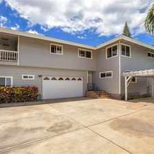 Rental info for 2636 Lioholo Place