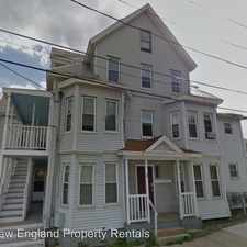 Rental info for 7 Willow St - 4A
