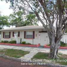 Rental info for 427 8th Ave N #2 in the St. Petersburg area