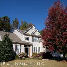 Rental info for 527 Kingsmoor Dr in the Simpsonville area