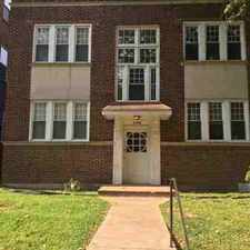Rental info for 6408 Cates Ave. Unit 1E in the St. Louis area