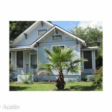 Rental info for 313 W. 37th in the Austin area