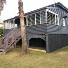 Rental info for Highset Home Situated On A Good Sized Block in the Bundaberg area