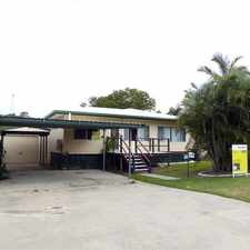 Rental info for :: HUGE MAN SHED BARGAIN 4 BEDROOM HOME! in the South Gladstone area