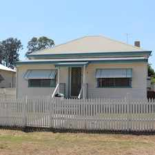 Rental info for FOUR BEDROOM HOME in the Cessnock area