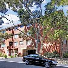 Rental info for HUGE 2 BEDROOM APARTMENT IN LEAFY STREET in the Coogee area