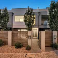 Rental info for Terrific Townhouse Great Location in the Adelaide area