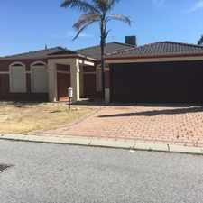 Rental info for Family Home Ready To Go !!! in the Perth area