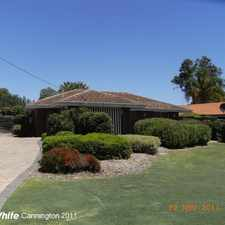 Rental info for Immaculate Gardens, Great BBQ Area - 3 x 1 Home - LAWNS & GARDENS INCLUDED IN RENT. in the Kenwick area