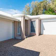 Rental info for NEAR NEW 2 BEDROOM TOWNHOUSE JUST FOR YOU! OFFERING 2 WEEKS FREE RENT in the Toowoomba area