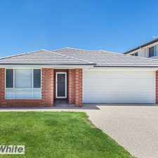 """Rental info for NEAR NEW HOME IN """"CAPESTONE"""" ESTATE WITH DUCTED AIR CONDITIONING in the Brisbane area"""