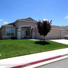 Rental info for 1250 El Monte Court in the South Meadows area
