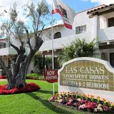 Rental info for Las Casas Apartment in the Santa Ana area