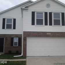 Rental info for 3211 Cork Bend Drive in the Indianapolis area
