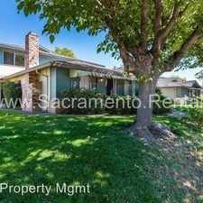 Rental info for 5918 Walerga Road #3 in the Foothill Farms area