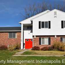 Rental info for 6028 Laurel Hall Drive - Unit 2 in the Indianapolis area