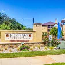 Rental info for Preserve at Pecan Creek