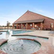 Rental info for Preserve at Prairie Pointe in the Lubbock area