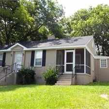 Rental info for 708 Matheson Road