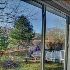 Rental info for Custom designed home in tranquil setting. Parking Available!