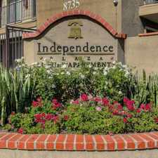 Rental info for Independence Plaza Apts. in the Canoga Park area