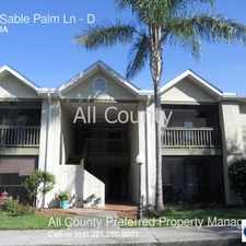 Rental info for 3565 Sable Palm Ln