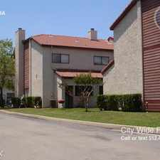 Rental info for William Cannon townhomes
