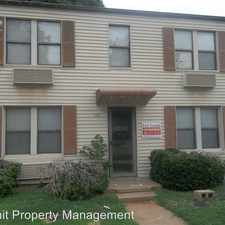 Rental info for 1-4 118 W. Miller in the Stillwater area