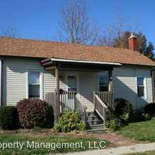 Rental info for 207 South Brown
