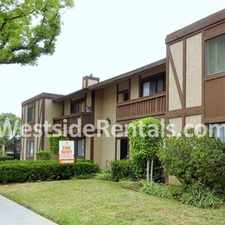 Rental info for $600 CREDIT! UPPER APARTMENT DISHWASHER, SMOOTH CEILINGS, BALCONY, WALK-IN CLOSET, PARKING, LAUNDRY in the Vineyard area