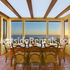 Rental info for Malibu celebrity house, heavenly 180 whitewater view