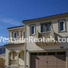 Rental info for Luxurious Home in Porter Ranch