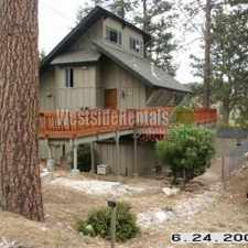 Rental info for Lovely big bear cabin