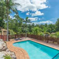 Rental info for Contemporary Home with Tranquil Views & a Pool! in the Brisbane area