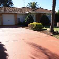 Rental info for Great Family Home in the Narellan Vale area