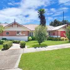 Rental info for EXECUTIVE STYLE HOME in the Goulburn area