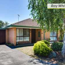 Rental info for Under Application Nowhere like Netherby in the Melbourne area